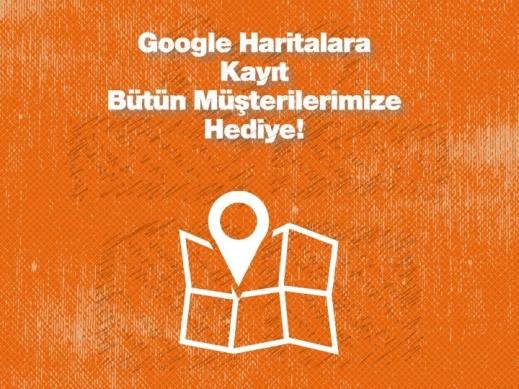 Google Haritalara Kayıt Hediye!